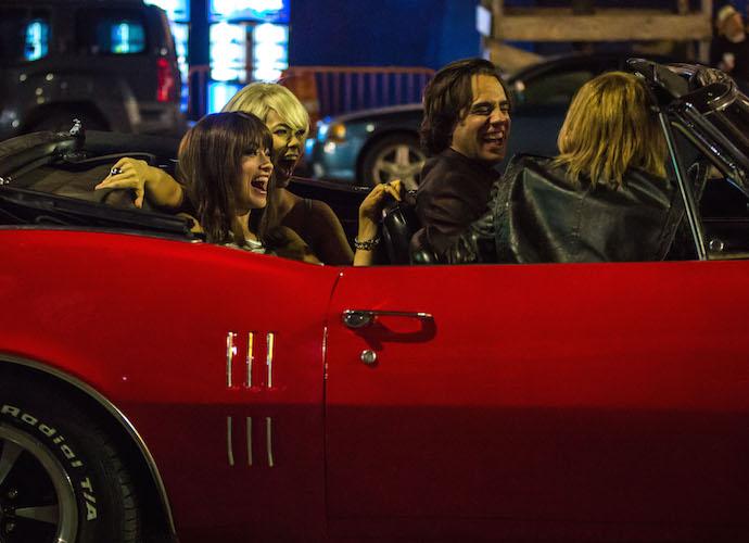 Olivia Wilde And Bobby Cannavale Film 'Vinyl' On Coney Island