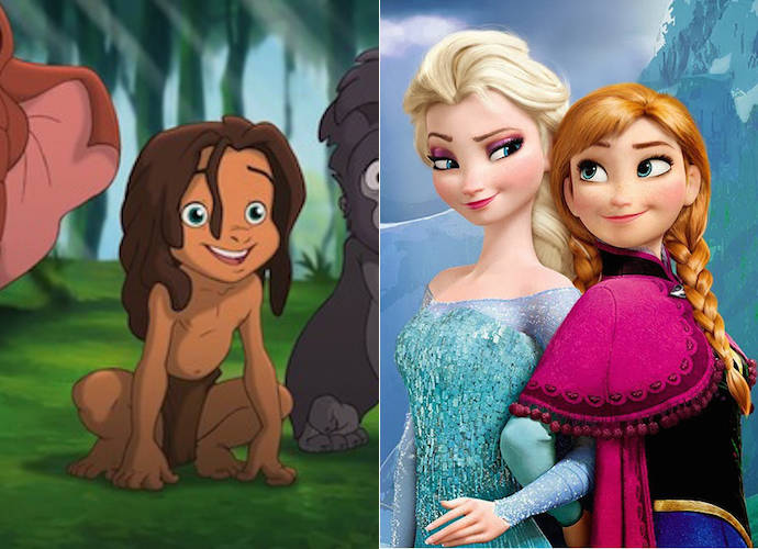 'Frozen' Director Chris Buck Believes Tarzan Is Anna And Elsa's Little Brother