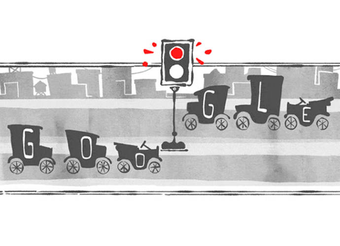 Google Doodle Celebrates 101st Birthday Of The Traffic Light