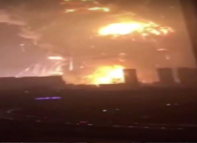 Tianjin, Northern Chinese City, Shaken By An Enormous Blasts, Dozens Are Dead