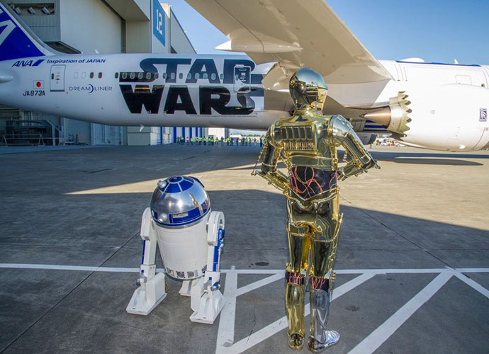 All Nippon Airways Unveils Much-Awaited 'Star Wars'-Themed Jet