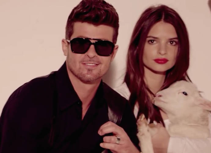 """Emily Ratajkowski Calls """"Blurred Lines"""" Video """"The Bane Of My Existence"""""""