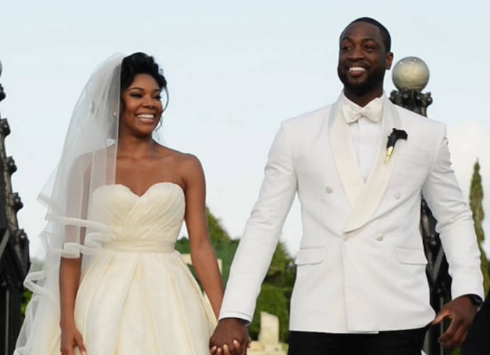 Gabrielle Union And Dwyane Wade Release Wedding Video Edited As A Romantic Comedy Trailer