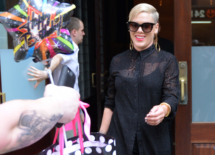 Pink Fires Back At Grammy President Neil Portnow For Saying Women Need To 'Step Up'