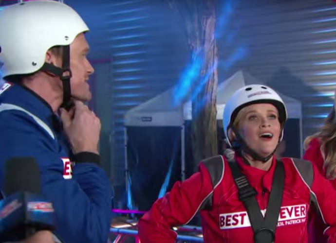 Reese Witherspoon Joins Neil Patrick Harris On 'Best Time Ever' Premiere, Faces Fear Of Heights