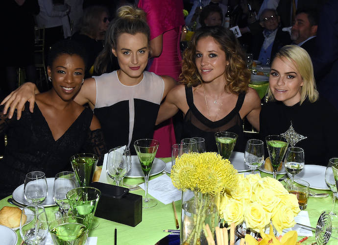 'Orange Is The New Black' Cast Attends Tony Bennet's Exploring The Arts Gala