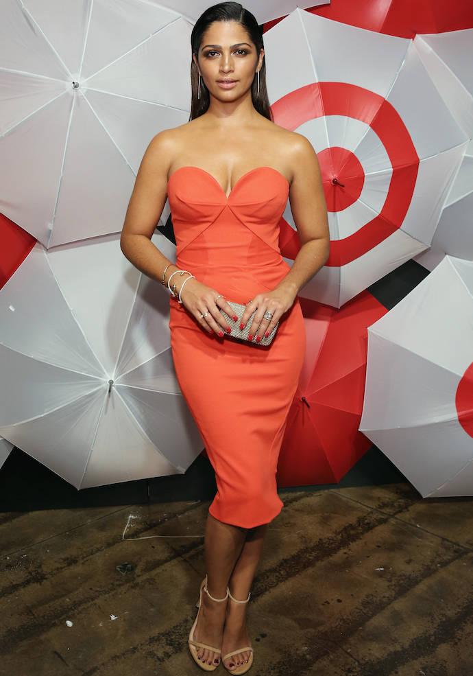 Camila Alves Stuns At Target New York Fashion Week Event