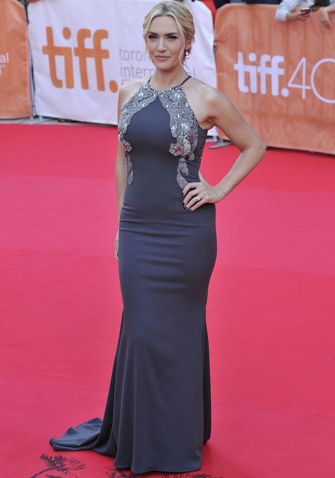 Kate Winslet Rocks Badgley Mischka Number At 'The Dressmaker' Premiere