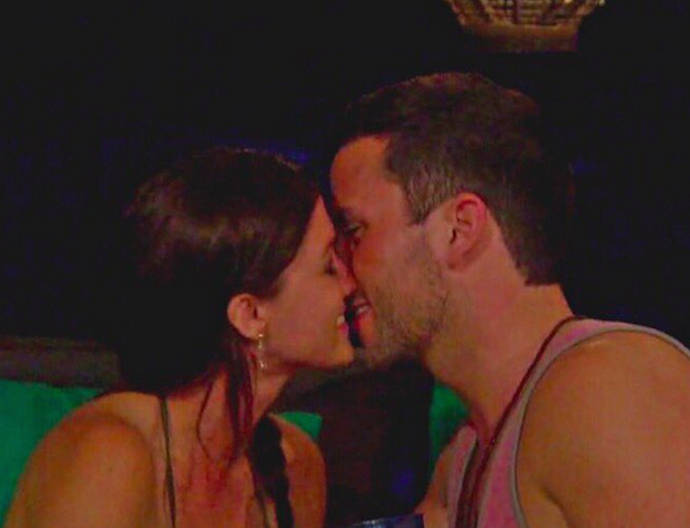 """Who knew this would be my last first kiss? #BachelorInParadise,"" Tanner captioned a screenshot from 'BIP' on Instagram"