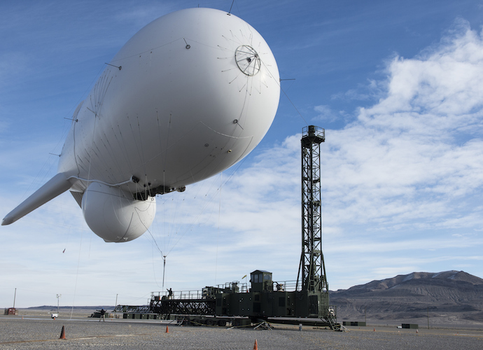 Untethered Military JLENS Blimp Lands In Pennsylvania