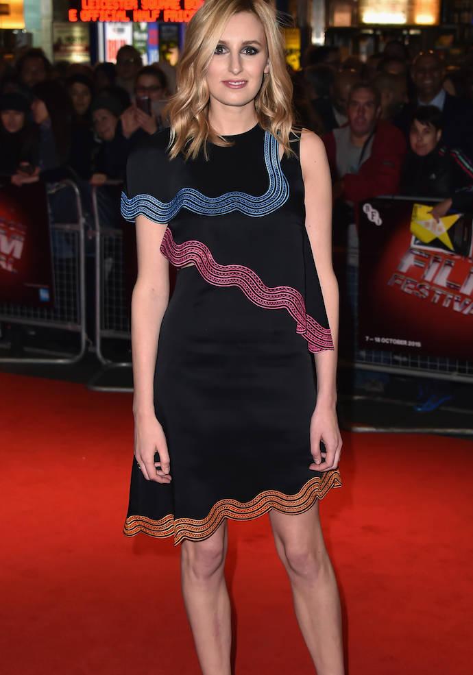 Laura Carmichael Rocks Edgy Look At London Film Festival