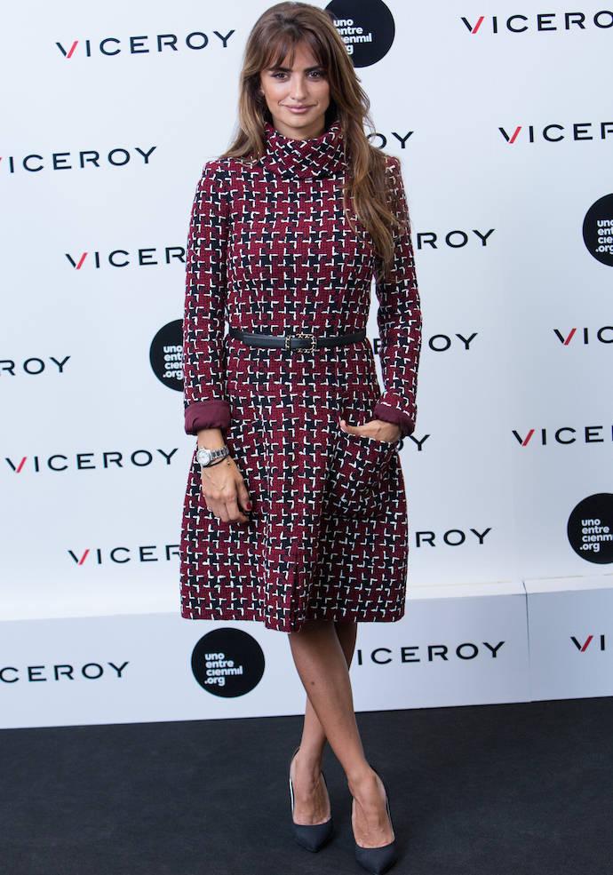 Penelope Cruz Wears Chanel At Viceroy Headquarters