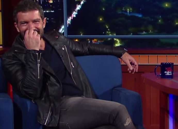 Stephen Colbert Proves Antonio Banderas Can Make Anything Sound Sexy