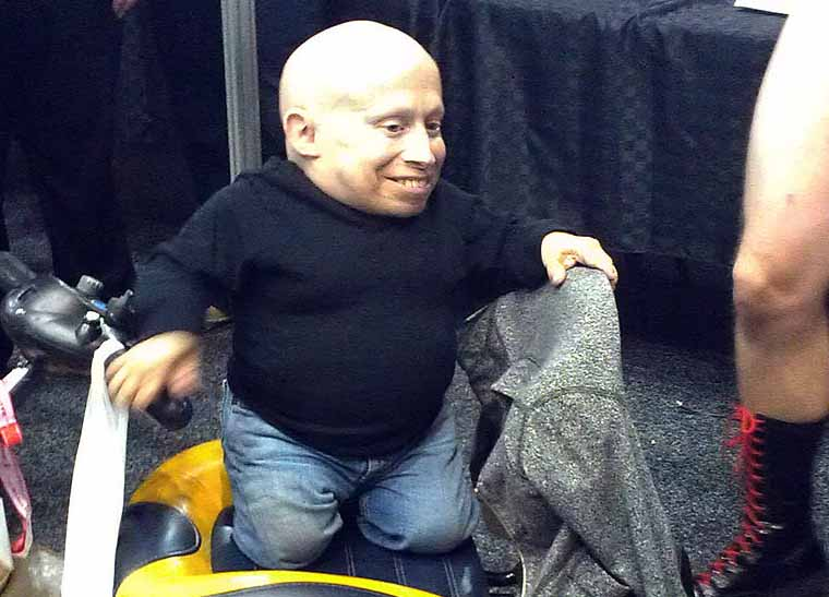 Verne Troyer Shows Off His Dance Moves To Drake's Hit 'Hotline Bling'