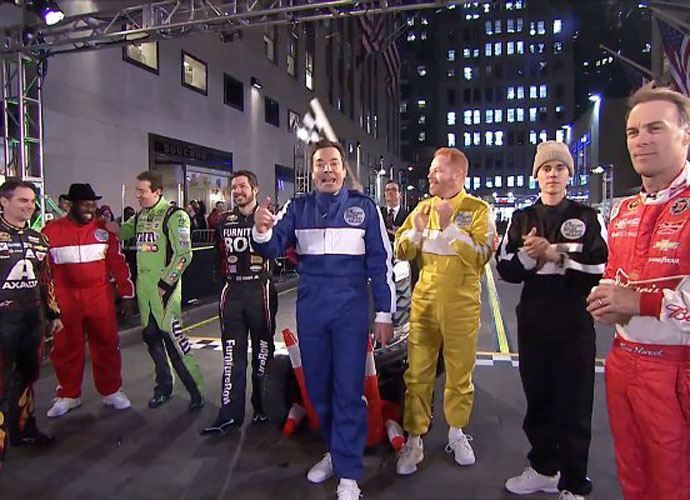 Jimmy Fallon Races Justin Bieber And Gets Friendly With Cate Blanchett On 'The Tonight Show'