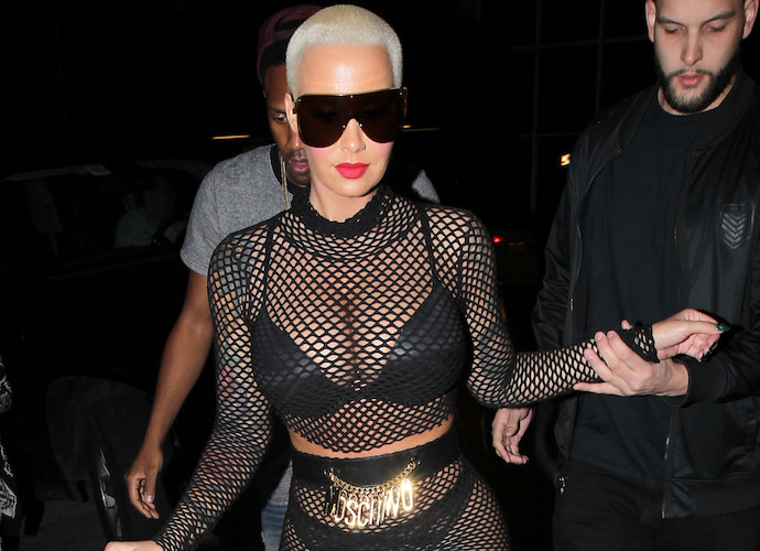 Amber Rose And Wiz Khalifa Party At Strip Club After Finalizing Divorce