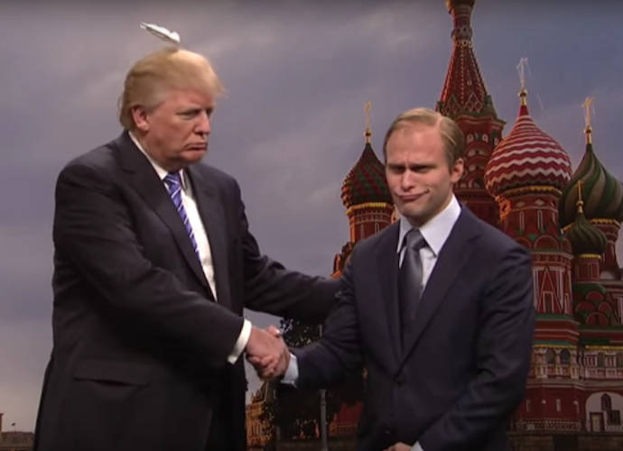 Donald Trump 'SNL' Hair Skit Cut From Show, 'Scalp Team Six' Released Online