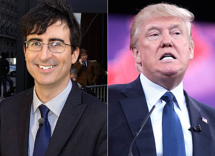 John Oliver Ridicules And 'Breaks Down' Donald Trump's Border Wall