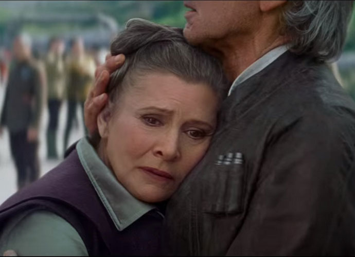 Carrie Fisher Appears In Behind-The-Scenes 'Star Wars: The Last Jedi' Footage [VIDEO]