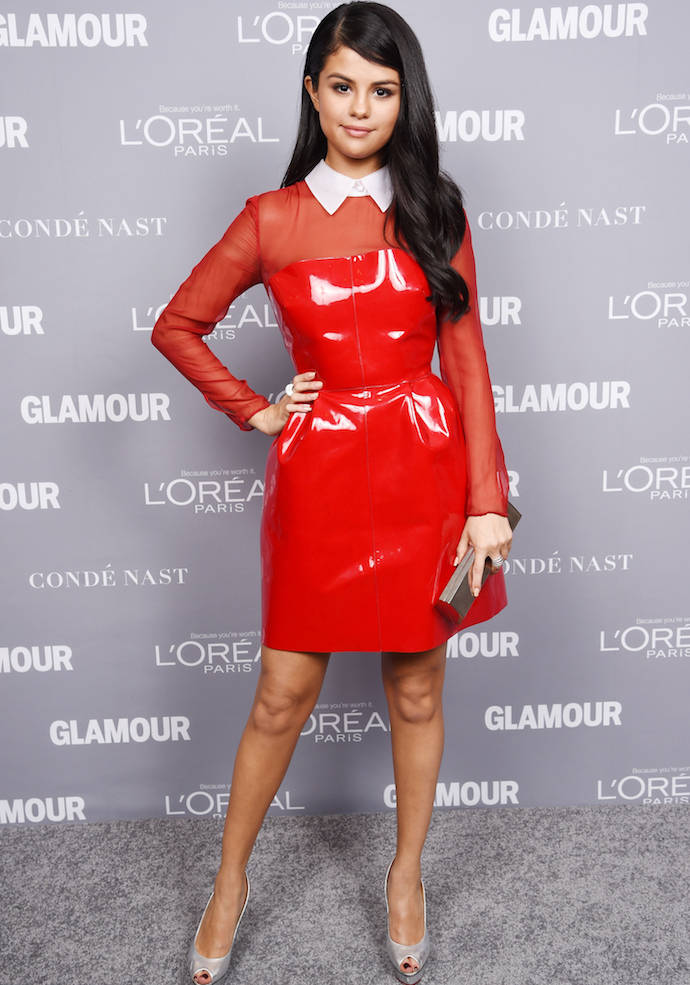 Selena Gomez Rocked A Red Dress At Glamour Women Of The Year Awards
