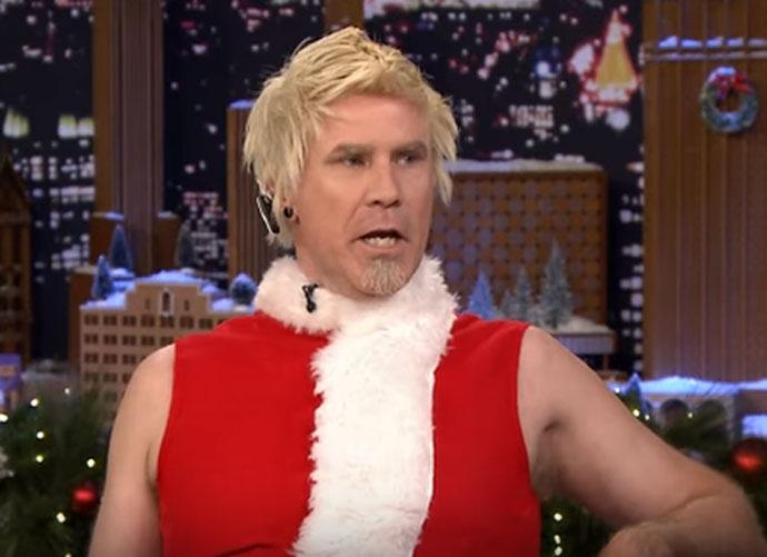 Will Ferrell Debuts New Santa Claus Look On 'Jimmy Fallon'