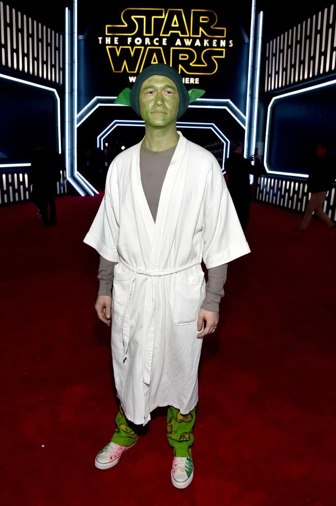 Joseph Gordon-Levitt At 'Star Wars' Premiere