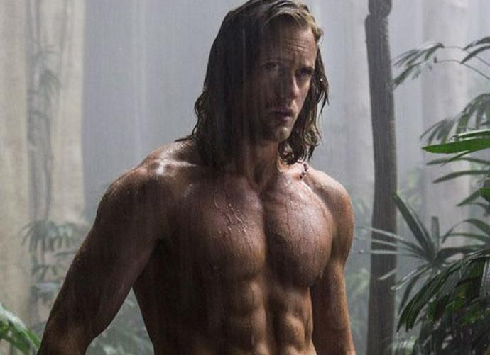 First (Shirtless) Look At Alexander Skarsgård In 'The Legend of Tarzan'