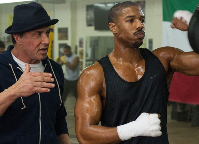 Sylvester Stallone Shares Vintage Photos From Filming Rocky's Apollo Creed Fight