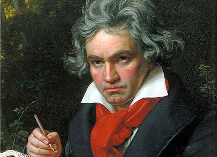 Google Doodle Honors Beethoven For Composer's 245th Year