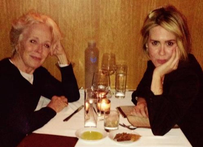 Holland Taylor Reveals She's Dating Younger Woman Rumored To Be Sarah Paulson
