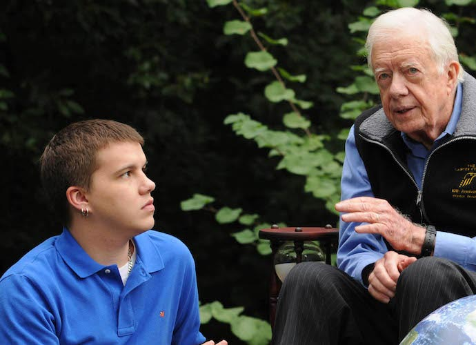 Jimmy Carter Becomes America's Oldest Living President At 94 And 172 Days