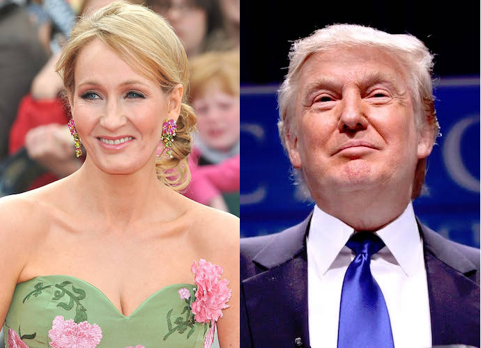J.K. Rowling Says Donald Trump Is Worse Than 'Harry Potter' Villain Voldemort