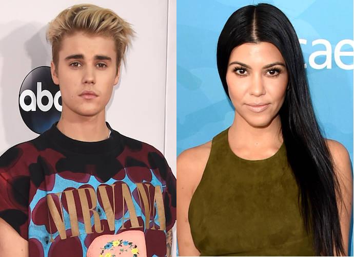 Was Kourtney Kardashian Refrencing Justin Bieber Fling With 'Cougar' T-Shirt?