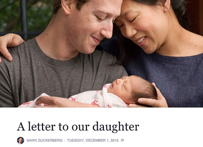 Mark Zuckerberg And Wife Priscilla Chan Welcome Daughter Max Pledge