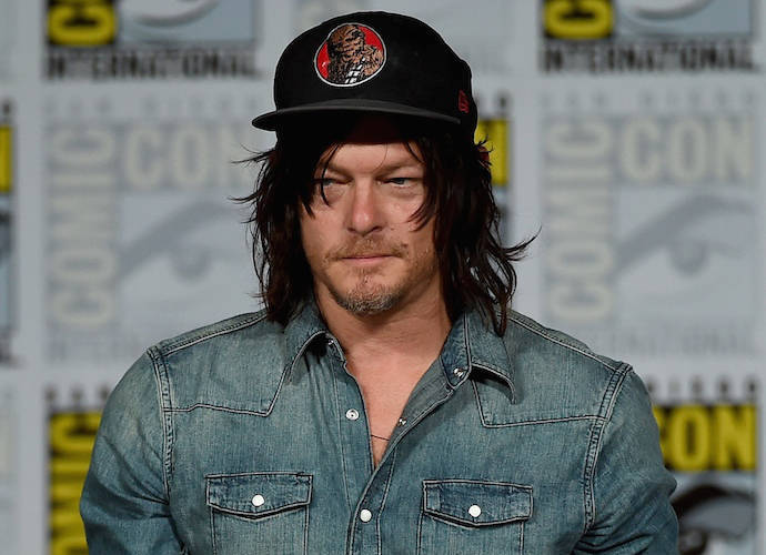 'Walking Dead' Fan Bites Star Norman Reedus At 'Walker Stalker' Convention