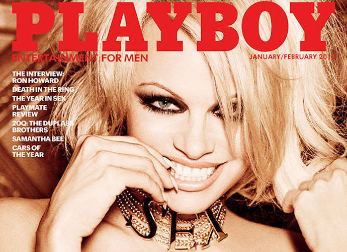 Pamela Anderson Covers Last Nude Issue Of 'Playboy,' Was Hugh Hefner's Only Choice