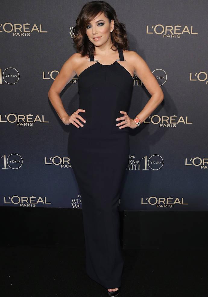 Eva Longoria Looked Glam At Woman Of Worth Celebration