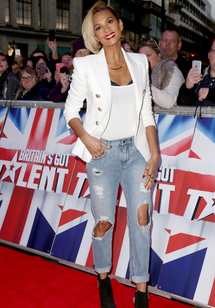 Get The Look: Alesha Dixon White Hot