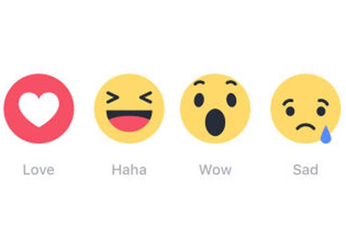 Facebook Adds New Emojis To Their 'Like' Button Options