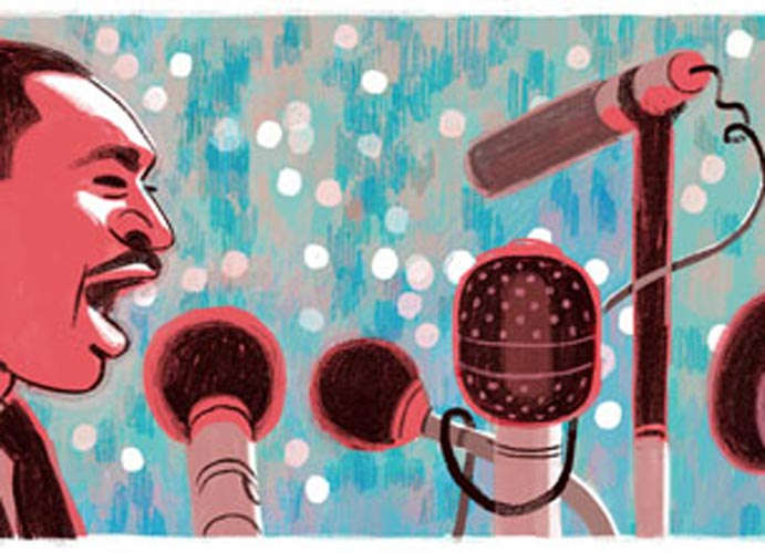 Martin Luther King, Jr. Honored With A Google Doodle