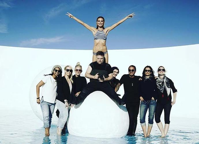 Heidi Klum Goes To Australia To Launch Her 2016 Swimwear Line