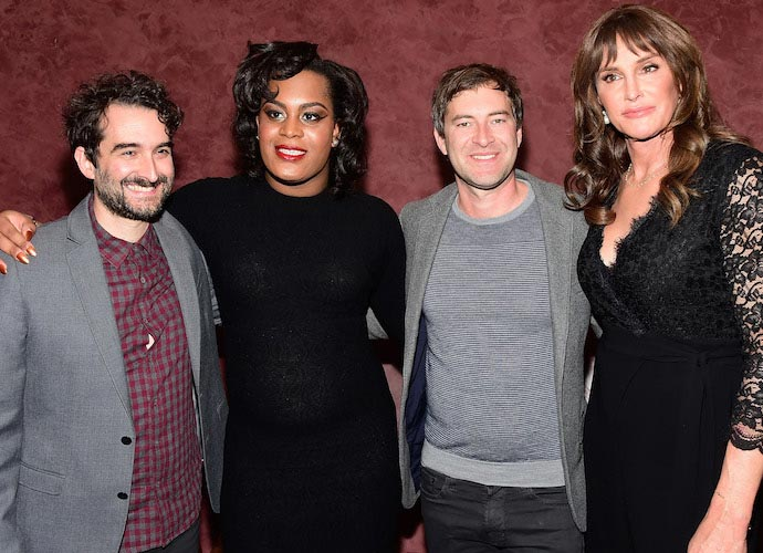 Caitlyn Jenner Poses With Mya Taylor And The Duplass Brothers At 'Tangerine' Screening
