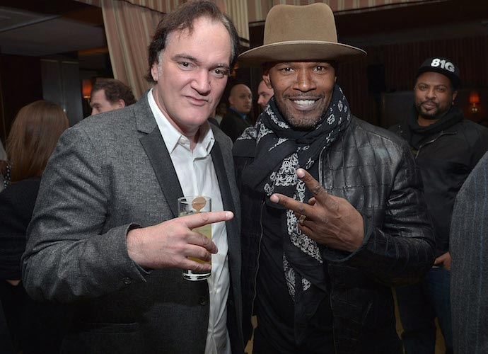 Quentin Tarantino And Jamie Foxx Attend Party For 'The Hateful Eight'
