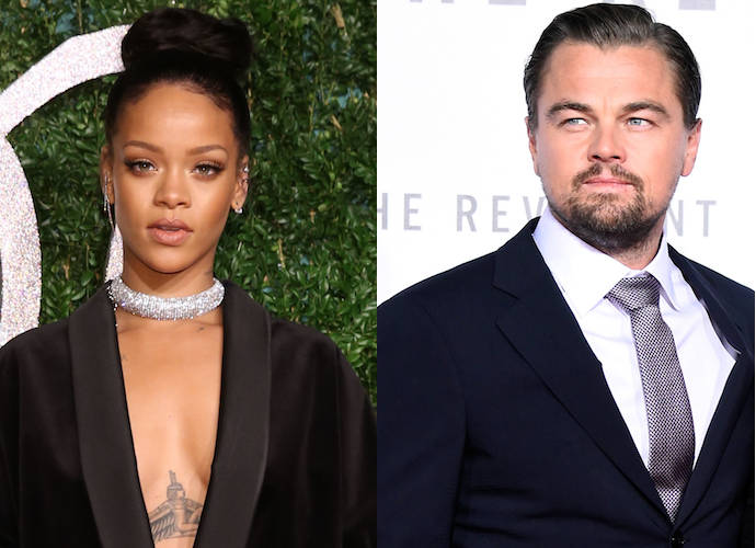 Rihanna And Leonardo DiCaprio Spark Romance Rumors – Again