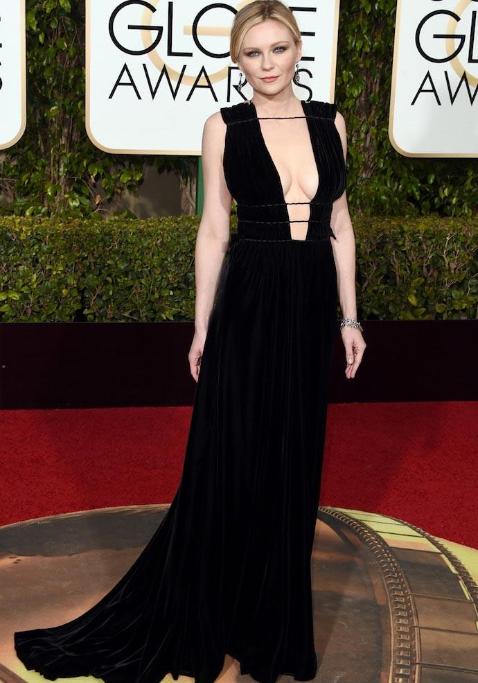 Golden Globes Best Dressed: Kirsten Dunst, Eva Longoria And More
