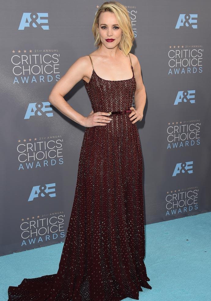 Critics Choice Awards Best Dressed: Rachel McAdams, Alicia Vikander & More Top The List