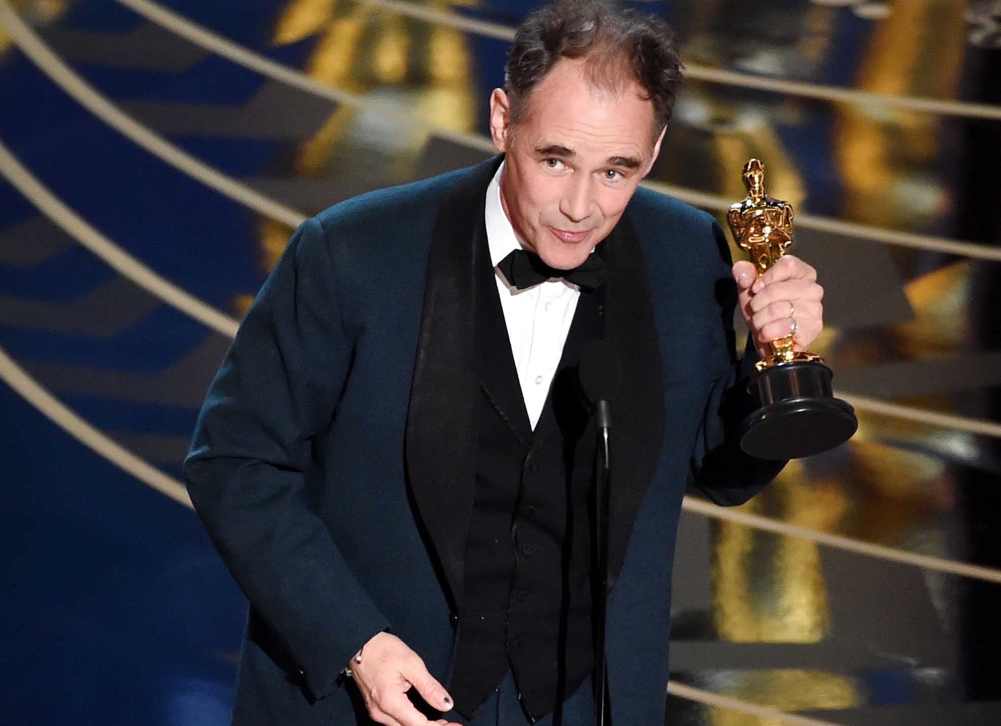 Oscars 2016: Mark Rylance Beats Sylvester Stallone For Best Supporting Actor Oscar