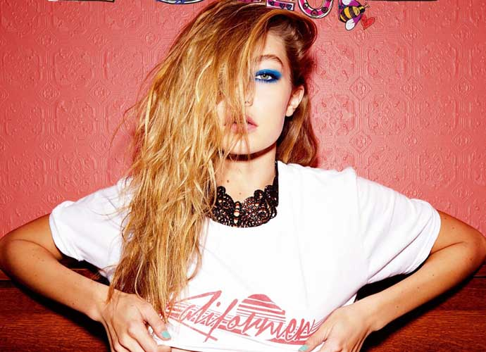 Gigi Hadid Shows Some Underboob For 'Love' Magazine