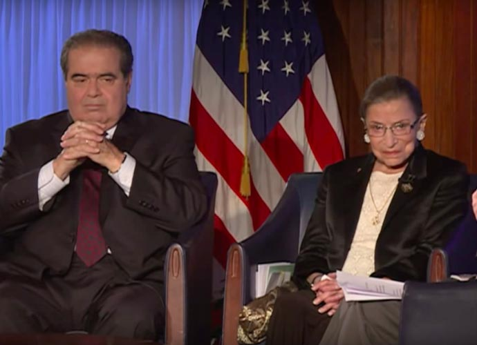Ruth Bader Ginsburg On Antonin Scalia: 'We Were Best Buddies'