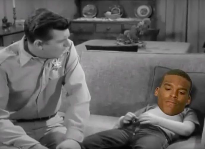 Andy Griffith Gives Cam Newton Advice On Losing In Viral Video